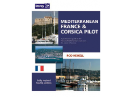 Nautical Guide Mediterranean France and Corsica Pilot Imray