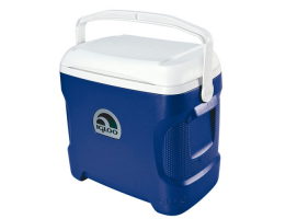 Igloo 30 Qt Navy Contour Portable Cooler
