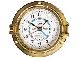 TIDE INDICATOR 4.5'' SOLID BRASS PLASTIMO