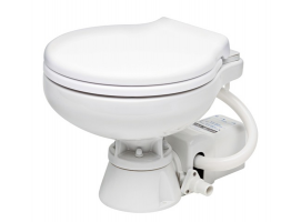 Space saver electric toilet