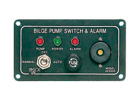 Electric Bilge Pump Panel