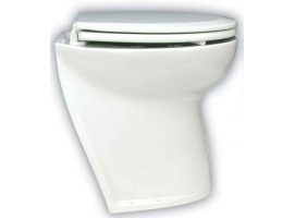 "Jabsco Toilet Flush Angle Deluxe 17"" 24V Salt Water"