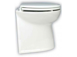 "Jabsco Deluxe Straight Flush WC Toilet 17"" 12V Salt Water"