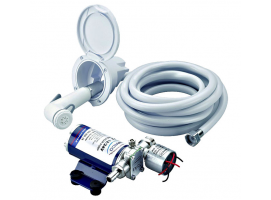 SHOWER KIT WITH ELECTRIC PUMP
