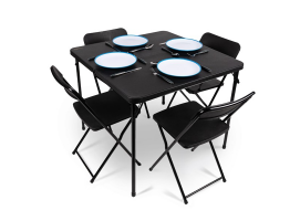 Kit Kampa Table, Chairs and Tableware
