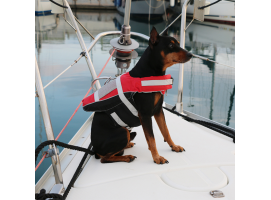 Lalizas Vest helps Buoyancy Pet