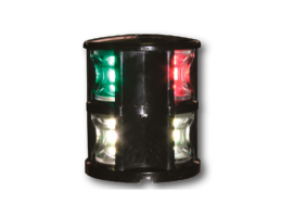 Lalizas Tri-Color-anchoring navigation Light Deck-mount FOS LED 12