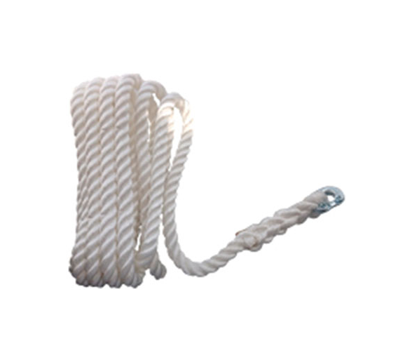 Lofrans 12 mm 3 Strand Rope with Connection
