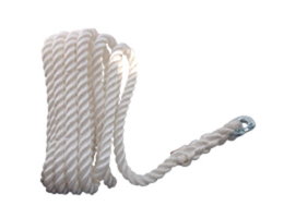 Lofrans 16 mm 3 Strand Rope with Connection