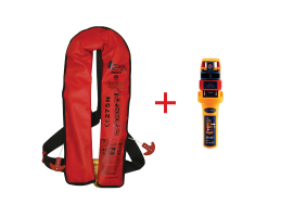Lalizas Inflatable Lifejacket 275N with Ocean Signal MOB1