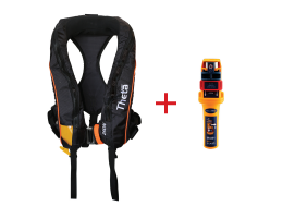 Lalizas Inflatable Lifejacket 290N with Ocean Signal MOB1