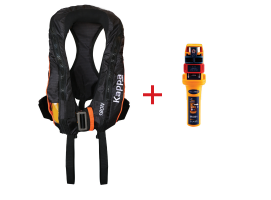 Lalizas Inflatable Lifejacket 180N with Ocean Signal MOB1