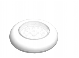 LED Push ON/OFF Light, For Surface Mount