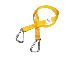 HARNESS TETHERS 2M + 2 SCREW HOOKS