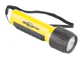 WATERPROOF TORCH 4LED 145mm.