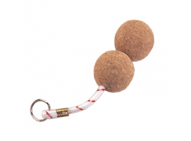 Double Cork Key Ring
