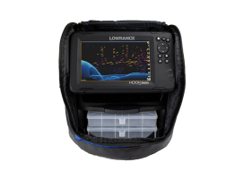 Lowrance Hook Reveal 7  Pack Doble transductor Tripleshot y Hielo