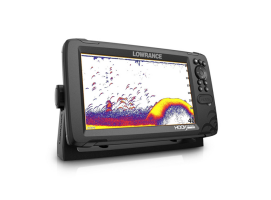 Lowrance Hook Reveal 9 TripleShot with Chirp, SideScan, DownScan and basemap
