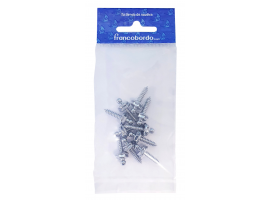 Male screw Chromed Brass LOXX-10 pcs