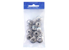 Pack 10 units Female oversized brooch SS LOXX
