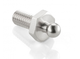 Male Nut screw Chromed Brass LOXX