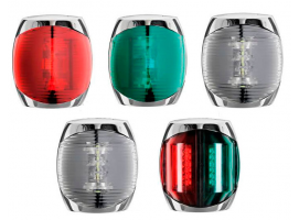 Sphera II Navigation LED Lights Inox Case