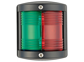 Utility 77 black/225° red-green navigation light