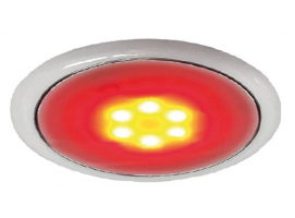 Day Night LED Ceiling Light Recessless Version