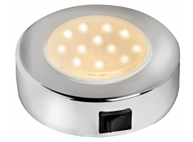 Batsystem Sun Chromed ABS LED Spotlight External Version