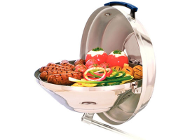 Magma Marine Kettle Original Model Charcoal Grill with Hinged Lid