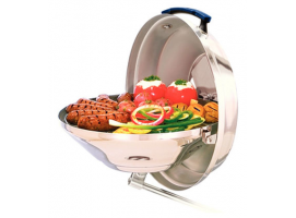 Magma Marine Kettle Party Model Charcoal Grill with Hinged Lid