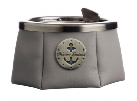Marine Business Grey Premium Ashtray with Lid