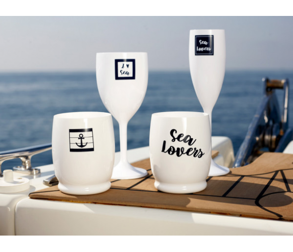 Marine Business Champagne Set Sea Lovers