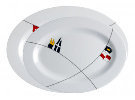 Marine Business Regata Oval Serving Platters 2 units