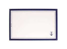 Marine Business Plastified Placemat Sailor Soul