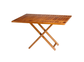 Marine Business Double Folding Table Teak