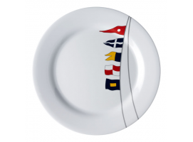 Marine Business Non-Slip Dinner Plate Regata 6 Un.