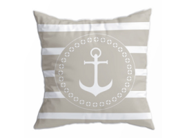Marine Business Set Navy Santorini Cushions