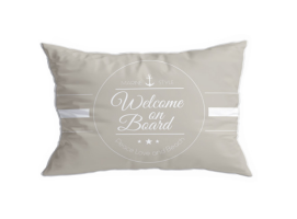 Marine Business Set Welcome Santorini Cushions