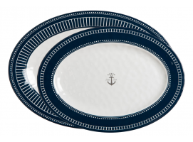 Marine Business Oval Serving Platters