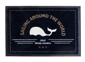 Marine Business Anti-Slip UV Resistant Rug Navy