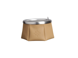Marine Business Ashtray with Lid - Brown Windproof