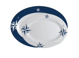 Oval Serving Platters NORTHWIND (SET 2 UNIDADES) Marine Business