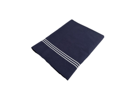 Marine Business Countertop Sheet and Double Blue Pillow Case, Santorini