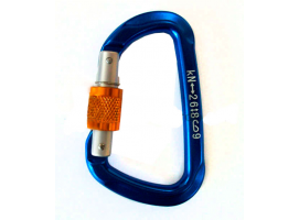 Aluminium Carabiner with Screw Nut of Gate Vinox