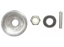 Motorguide Kit Nut and Anode Propeller