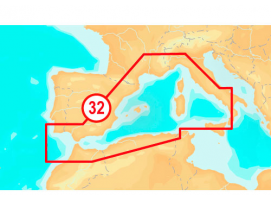 Navionics Platinum+ XL3 32P Cartography (Mediterranean West)