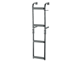 Nueva Rade Ladder narrow transom 90 degrees crock