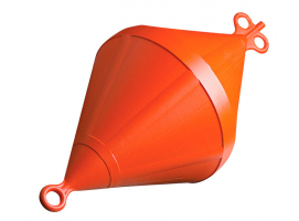 Nuova Rade 22 cm Orange Mooring Buoy
