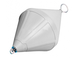 Nuova Rade 103 cm White Mooring Buoy with Rod